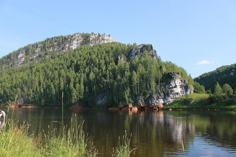 Скалы на Косьве