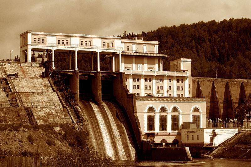 Широковская ГЭС на реке Косьве, Пермский край