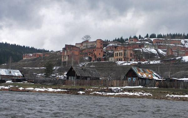 Заброшенный шахты в поселке Усьва, Пермский край