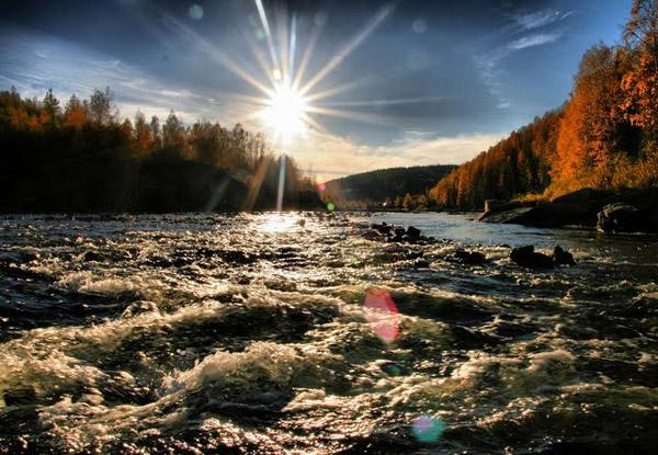 На реке Усьве