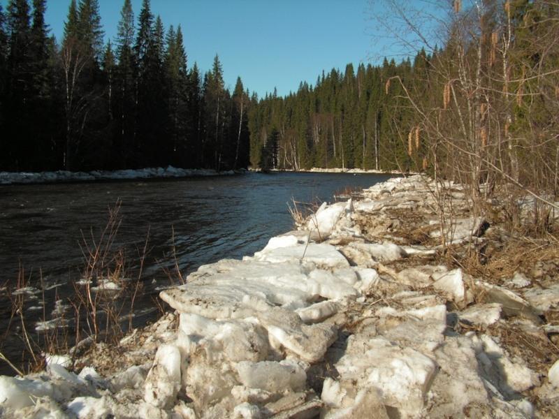 Река Вижай, Пермский край